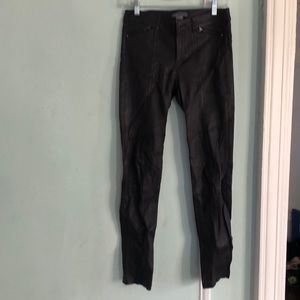 100% leather vince pant
